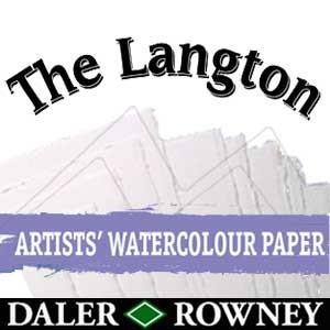 LANGTON PRESTIGE DALER ROWNEY PAPEL ACUARELA