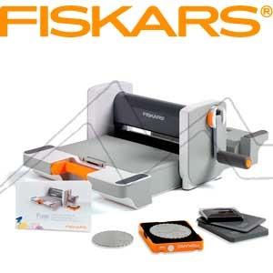 FISKARS FUSE CREATIVITY SYSTEM - Máquina para cortar, grabar y entintar
