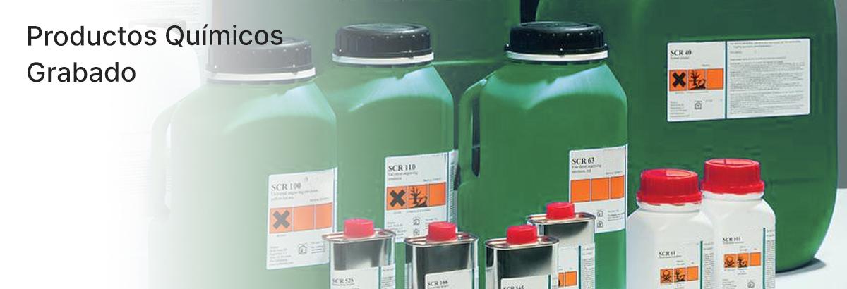 Productos químicos Grabado electrolítico