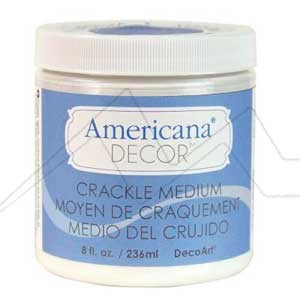 DECOART AMERICANA DECOR CRACKLE MEDIUM - MÉDIUM CRAQUELADOR CHALK PAINT