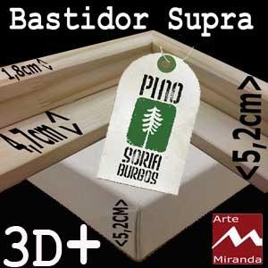 ARTEMIRANDA BASTIDORES SUPRA 3D ALGODÓN