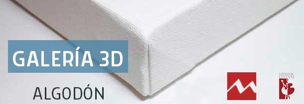 Bastidor Galería Algodón (3D - 46x32 mm)
