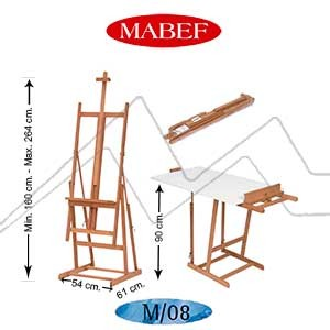 CABALLETE MABEF M8 - CABALLETE BÁSICO DE ESTUDIO CONVERTIBLE EN MESA
