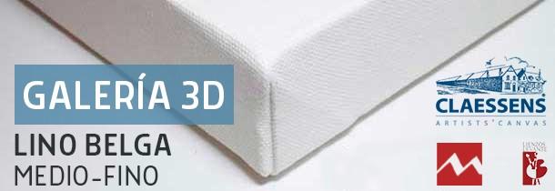 Bastidor Galería Lino Belga Medio-Fino (3D - 46x32 mm)