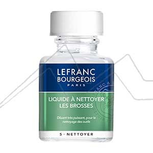 LEFRANC & BOURGEOIS LÍQUIDO PARA LIMPIAR PINCELES