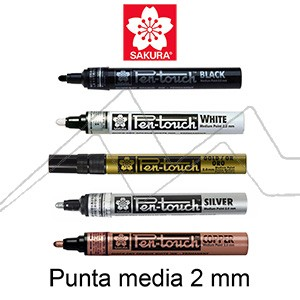 ROTULADOR SAKURA PEN-TOUCH PUNTA MEDIA