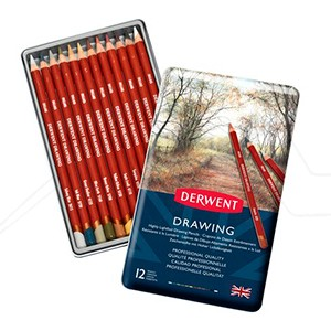 DERWENT DRAWING - CAJA DE METAL