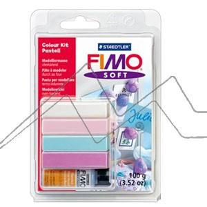SET DE FIMO SOFT - COLOUR KIT PASTELL