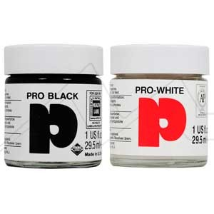 DALER ROWNEY PRO BLACK - ACUARELA OPACA NEGRA
