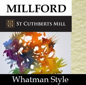 PAPEL ACUARELA WHATMAN STYLE MILLFORD SAUNDERS WATERFORD 300G