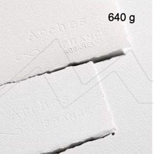 PAPEL DE ACUARELA ARCHES BLANCO BRILLANTE 640 G