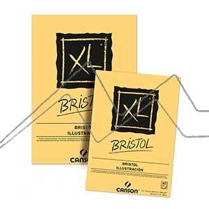 CANSON BLOC XL BRISTOL 180 G ENCOLADO 50 HOJAS EXTRALISO