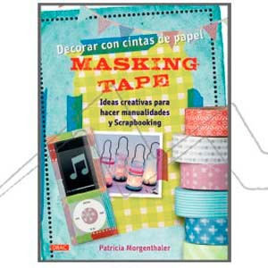 DECORAR CON CINTAS DE PAPEL MASKING TAPE