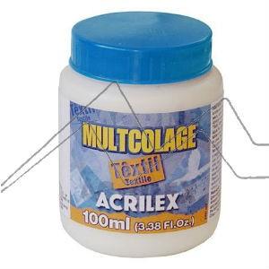 ACRILEX MULTCOLAGE TEXTIL - COLA PARA DECOUPAGE