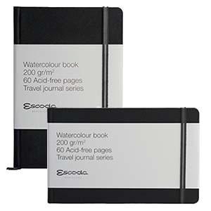 BLOC ESCODA ACUARELA 200 G WATERCOLOR BOOK TRAVEL JOURNAL SERIES