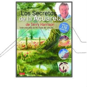 LOS SECRETOS DE LA ACUARELA - LIBRO DE TÉCNICAS DE ACUARELA DE TERRY HARRISON
