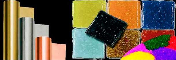 Manualidades: Arenas, Vidrio, Estaño, Mosaico, Cuero...