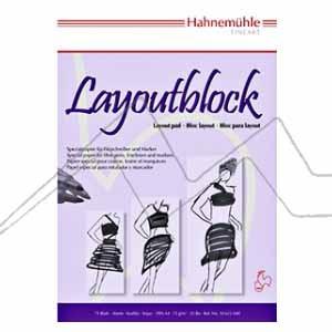 BLOC HAHNEMÜHLE LAYOUTBLOCK PARA ROTULADOR 75 G