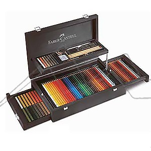 FABER-CASTELL ART & GRAPHIC COLLECTION ESTUCHE DE MADERA