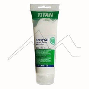 TITÁN GEL DENSO ACRÍLICO BRILLANTE - HEAVY GEL GLOSS