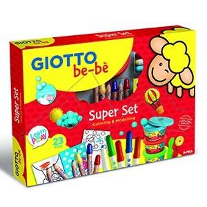 GIOTTO BEBÉ SUPER SET COLORING & MODELING