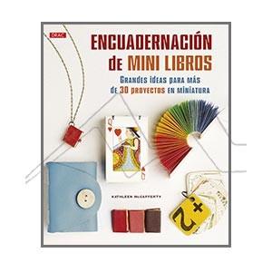 ENCUADERNACIÓN DE MINI LIBROS