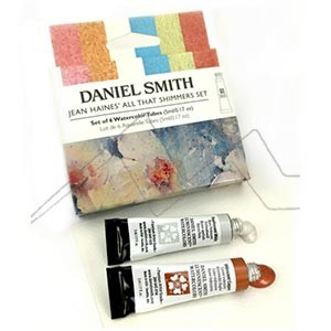 DANIEL SMITH JEAN HAINES' ALL THAT SHIMMERS SET - SET DE ACUARELAS IRIDISCENTES DANIEL SMITH SELECCIÓN JEAN HAINES
