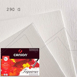MINIPACK PAPEL CANSON FIGUERAS PARA ÓLEO 290 G