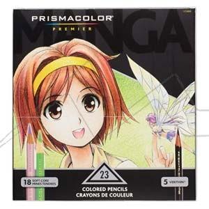 PRISMACOLOR PREMIER MANGA  - CAJA 23 LÁPICES DE COLORES