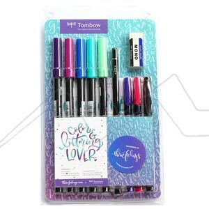 TOMBOW SET COLOUR & LETTERING LOVER - EDICIÓN THREE FEELINGS