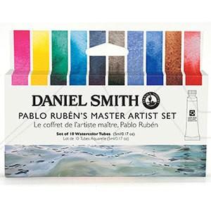 DANIEL SMITH PABLO RUBÉN'S MASTER ARTIST SET - SET DE ACUARELAS DANIEL SMITH SELECCIÓN PABLO RUBÉN
