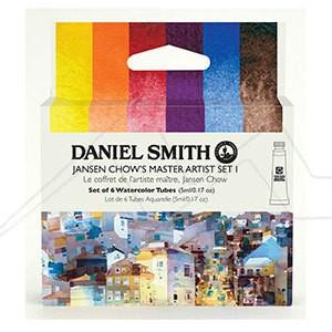 DANIEL SMITH JANSEN CHOW´S MASTER ARTIST SET I - SET I DE ACUARELAS DANIEL SMITH SELECCIÓN JANSEN CHOW