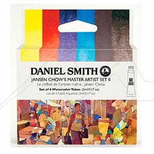 DANIEL SMITH JANSEN CHOW´S MASTER ARTIST SET II - SET II DE ACUARELAS DANIEL SMITH SELECCIÓN JANSEN CHOW