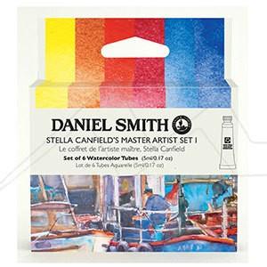 DANIEL SMITH STELLA CANFIELD´S MASTER ARTIST SET I - SET I DE ACUARELAS DANIEL SMITH SELECCIÓN STELLA CANFIELD