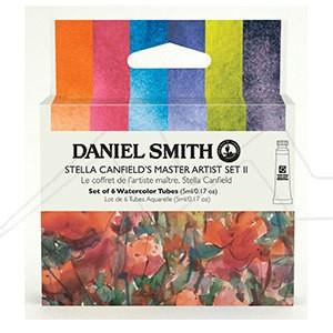 DANIEL SMITH STELLA CANFIELD´S MASTER ARTIST SET II - SET II DE ACUARELAS DANIEL SMITH SELECCIÓN STELLA CANFIELD