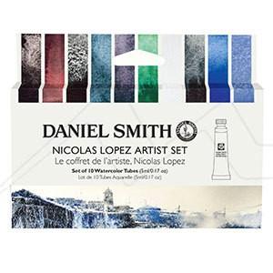 DANIEL SMITH NICOLÁS LÓPEZ ARTIST SET - SET DE ACUARELAS DANIEL SMITH SELECCIÓN NICOLÁS LÓPEZ