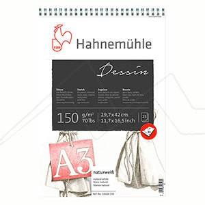 HAHNEMÜHLE DESSIN PAPER BLOC DIBUJO 150 G