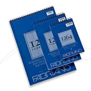 FABRIANO 1264 BLOC ACUARELA 300 G 25% ALGODÓN
