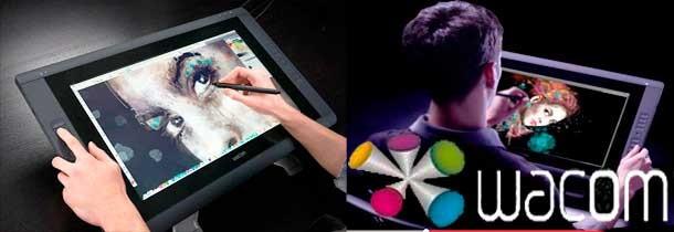 Wacom: Tabletas digitalizadoras, Stylus (bolígrafo y lápiz digital)...