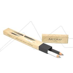 ARTGRAF TWIN BOX. CAJA CON 2 LÁPICES DE GRAFITO (GRAFITO SUAVE B Y GRAFITO ACUARELABLE 2B)