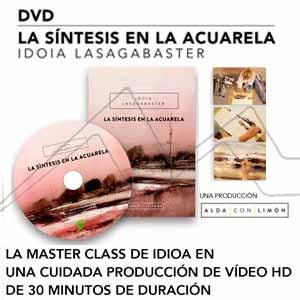DVD LA SÍNTESIS EN LA ACUARELA. MASTER CLASS DE IDOIA LASAGABASTER. DVD VÍDEO HD.