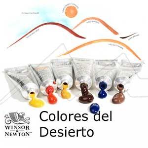 WINSOR & NEWTON ACUARELA ARTISTS COLORES DEL DESIERTO TUBO DE 5 ML