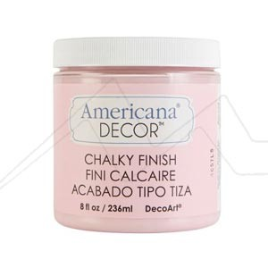 CHALK PAINT AMERICANA DECOR - PINTURA ULTRA-MATE EFECTO TIZA PARA MANUALIDADES Y DECORACIÓN