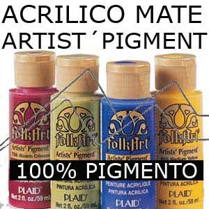 FOLKART ARTIST' PIGMENT - ACRÍLICO ESTILO AMERICANA