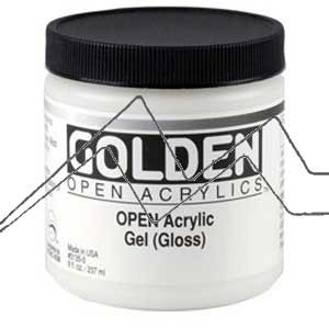 GOLDEN OPEN ACRYLIC GEL - medium gel acrílico