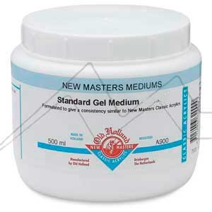 OLD HOLLAND NEW MASTERS GEL MÉDIUM STANDARD BRILLANTE - STANDARD GEL MEDIUM GLOSS