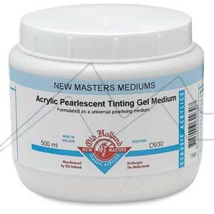 OLD HOLLAND NEW MASTERS MÉDIUM PERLESCENTE EN GEL - ACRYLIC PEARL TINTING GEL MEDIUM Nº 930