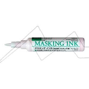 HOLBEIN LÍQUIDO ENMASCARADOR CON DOSIFICADOR - MASKING INK