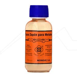 MONGAY LACA ZAPON – CINCO AROS - BARNIZ PARA METALES