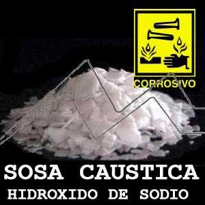 SOSA CAÚSTICA - HIDRÓXIDO DE SODIO